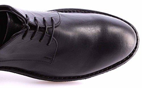 Chaussure Classiques Homme MOMA 54504-TA Hannover Nero Cuir Noir Vintage Nouveau