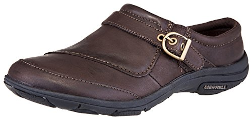Merrell Women's Dassie Slide Slip-On Shoe (8.5 B(M) US, Coffee) Buckle Mule