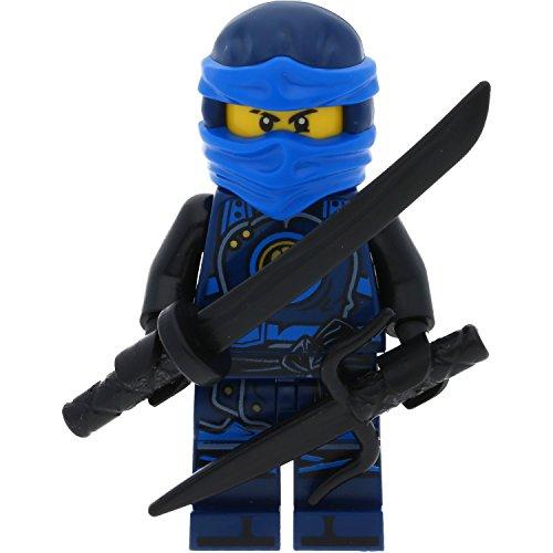 Ninjago Figurine miniature LEGO Jay Hands of Time Fait partie de l'ensemble 70622 Inclut 2 GALAXYARMS armes