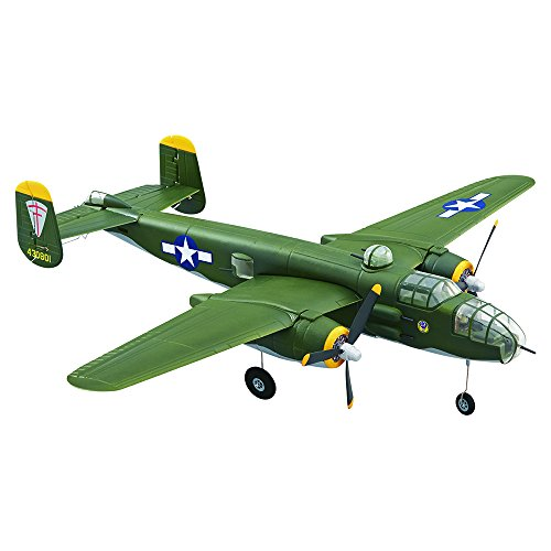 Flyzone WWII B-25 Mitchell Bomber Micro Ready To Fly radio Controlled Airplane 21.7