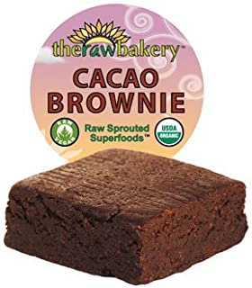 product image for Blue Mountain Organics, Raw, Vegan, Organic Simply Cacao Brownie, Pack of 3 (7.2 oz)