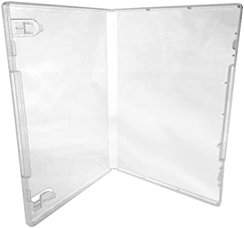 CheckOutStore/® Plastic Storage Cases for Rubber Stamps 25 Clear