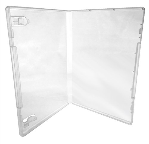 (25) CheckOutStore Plastic Storage Cases for Rubber Stamps (Clear) by CheckOutStore