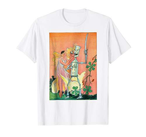 (Land of OZ Sky Princess Oils The Tin Soldier Oz Book Shirt)