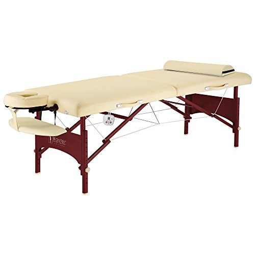 Master-Massage-Caribbean-Deluxe-Therma-Top-Massage-Table-Package-Cream-Memory-Foam