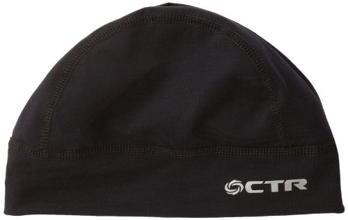 Helmet Liner Black Fleece - Chaos CTR Adrenaline Skull Cap and Helmet Liner, Black, Adult