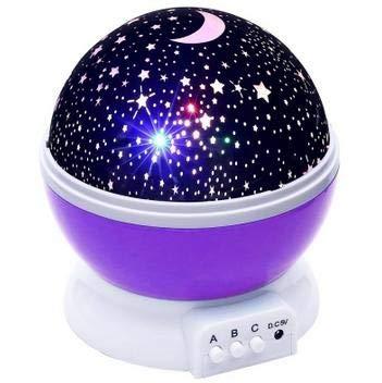 Senior Estrella Estrella Vacía Proyector de Luz Nocturna Led Luna ...