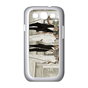 Samsung Galaxy S3 9300 Cell Phone Case Covers White Gentleman G7685093