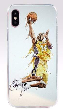 Art Design Funda para iPhone XR Kobe Bryant Mamba Lakers 24 ...