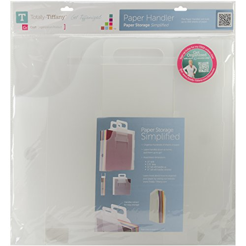 Totally-Tiffany Paper Handler, 13 by 13 by 2.5-Inch