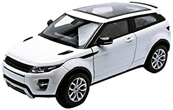 Welly 24021 white Range Rover Evoque Coupe, 1/24 blanco