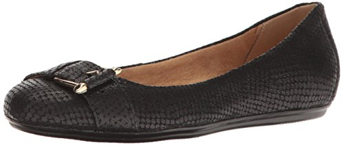 Naturalizer Womens Bayberry Ballet Flat Black 1WRmgaZYW