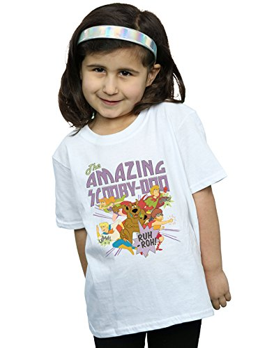 Scooby Doo Girls The Amazing Scooby T-Shirt White 9-11 Years -