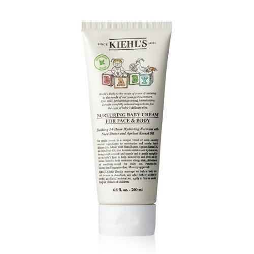 Kiehls Mom & Baby Moisturizing Cream Nurturing Baby Cream for Face & Body 6.8 fl.oz / 200ml