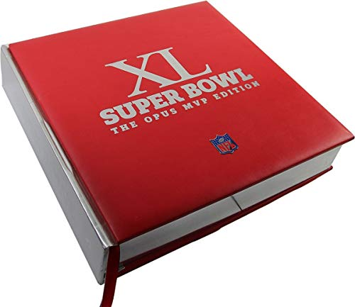 Super Bowl 40 Limited Edition Opus Book SB MVP Autographed Signed Edition 35 Signatures - Authentic Signature