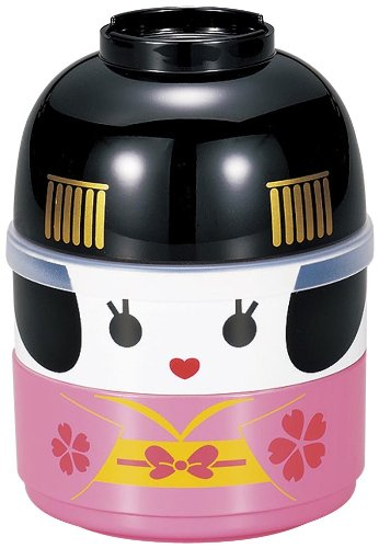 JapanBargain Japanese Geisha Doll Lunch Bento Box