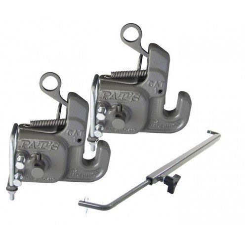 Category #1 Pat's Easy Change with Stabilizer Bar - Best Quick Hitch System On The Market - Flexible, Durable and Affordable