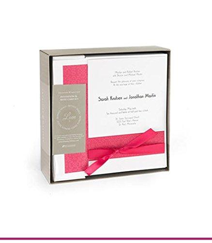 [Fuchsia Band DIY 50ct Invitation Kit] (Fuchsia Band Invitation Kit)