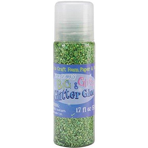 Advantus Big and Glitzy Glitter Glue, 1.7 Ounce, Peridot (Glitzy Glitter Glue)