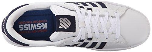 Zapatillas Deportivas K-swiss Hombres Hoke Cmf Ice White / Azul Marino / Hielo