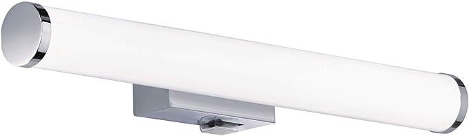 Wandleuchte Diele Kunststoff Acryl LED silber Warmweiß