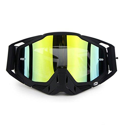 traviesa B Prueba Prueba Polvo al Gafas Montar de explosiones PC Impermeable y a a a esquí Libre de Aire Lente Campo Caballo de la 4pqgE