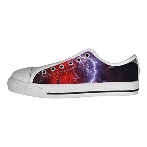 Custom illuminazione Womens Canvas shoes I lacci delle scarpe scarpe scarpe da ginnastica Alto tetto Comprar Barato Cuánto FTaivR7