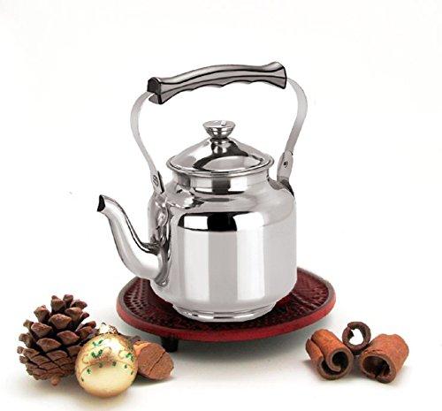 Kuber Industries Stainless Steel Tea Kettle,Serving Tea Kett