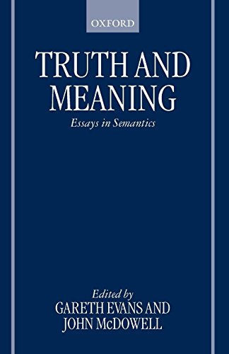 truth and meaning essays in semantics translate this website