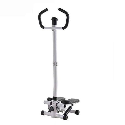QNJM Health & Fitness Twist Stepper Step Machine con Barra De ...