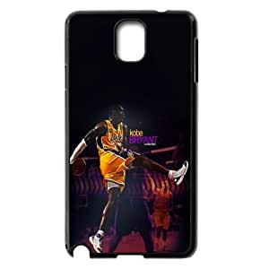 The NBA star Kobe Bryant for SamSung Galaxy Note3 Black Case Hardcore-9