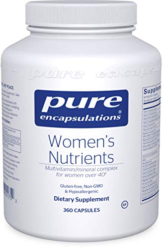 Pure Encapsulations – Women's Nutrients – Hypoallergenic Multivitamin/Mineral Complex for Women Over 40* – 360 Capsules For Sale