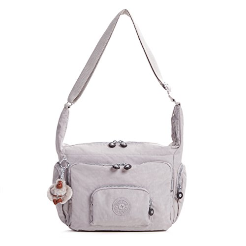 Kipling Erica Solid Crossbody Bag, Slate Grey