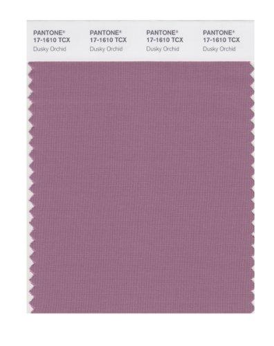 (PANTONE Smart 17-1610X Color Swatch Card, Dusky Orchid)