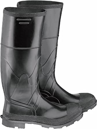 Women/'s Size 12 Dunlop Steel Toe Knee Rubber Boots Made in USA Men/'s Size 10