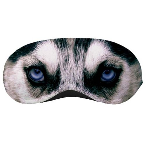 UPC 070038610175, Siberian Husky Dog Sleeping Eye Night Mask