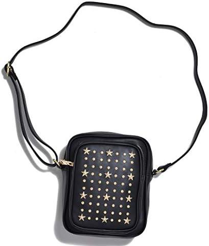 ボディバッグ ショルダーバッグ サコッシュ ミニポーチ ミニバッグ サブバッグ スタースタッズ 星型 小物入れ メンズ レディース ユニセックス バッグ 鞄 SVEC [ SPG394-1-CPZ ]
