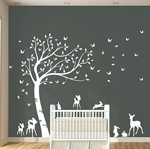 Customisible Rabbits Forest Nursery Sticker