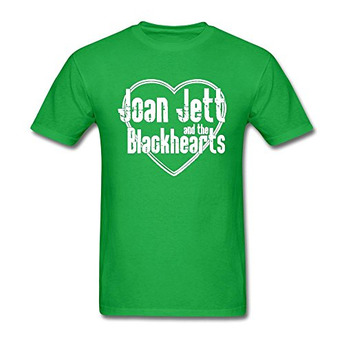 SAMMA Men's Joan Jett The Blackhearts Design Cotton T Shirt (A List Cotton T-shirt)