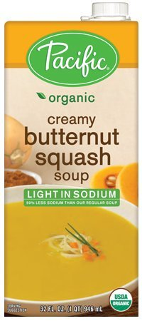 Pacific Foods, Butternut Squash Soup, Organic, 32 oz