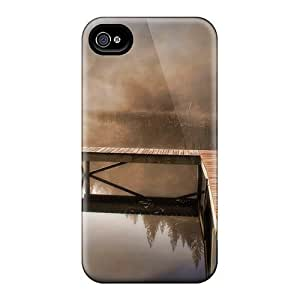 Hard Plastic Iphone 4/4s Case Back Cover,hot The Silence Of The Nature Case At Perfect Diy