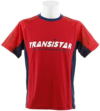 (トランジスタ) サイドメッシュゲームシャツマーブル HB18AT02-66