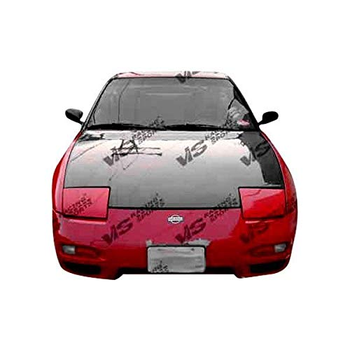 (VIS 89-94 Nissan 240SX Carbon Fiber Hood OEM S13 92/93)