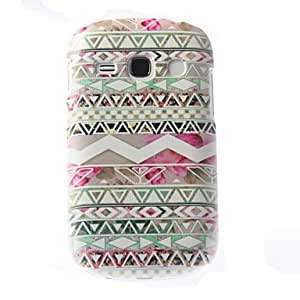 ZXC Colorful Stripe Pattern PC Hard Case with Matte Back Cover for Samsung Galaxy 6810