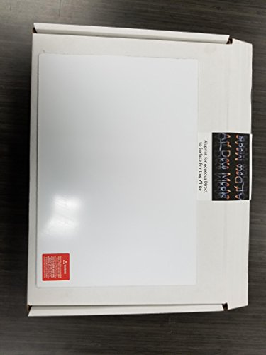 (ArtDeco Aluminum Platte for Aqueous Direct to Surface Printing White Matte in 4ftx8ft 1 Sheet )