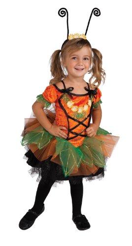 Rubie's Costume Co Deluxe Pumpkin Patch Pixie Costume, Orange, Toddler