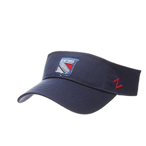 New York Rangers VELCRO Visor Hat - NHL Golf Cap, Men's Adjustable One Size