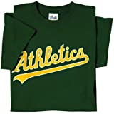 Oakland As (Athletics) (ADULT LARGE) 100% Cotton Crewneck MLB Officially Licensed