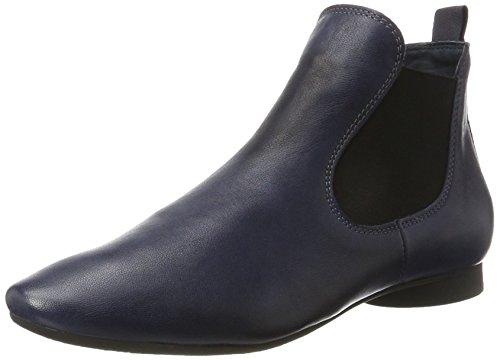 Think! Damen Guad_181293 Chelsea Boots Blau (Navy/Kombi 84)