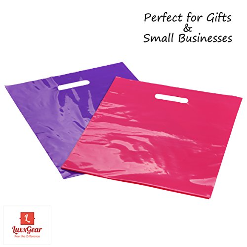 Merchandise Bags with Die Cut Handles - 12